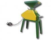 Aplatisseur à céréales électrique - Débit : 400 à 2000 Kg/h