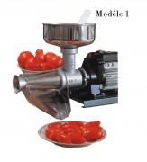 Appareil à coulis de tomates électrique - Puissance (W) : 400 - 600