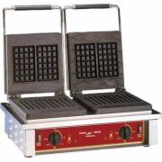 Appareil à gaufre professionnel - Thermostat à 300°C - Minuterie du temps de cuisson (0-5 min)