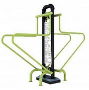 Appareil a triceps - Dimensions (L x l x h) : 238 x 71 x 200 cm