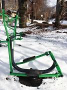 Ski de fond - Appareil de fitness de plein air type cardio