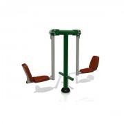 Appareil de fitness extérieur - Dimensions (L x l x H) mm : 2270 x 635 x 1640