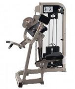 Appareil de musculation professionnel - Dimensions (L x l x H) : 114 x 104 x 140 cm