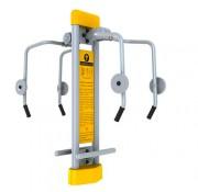 Appareil extérieur de renforcement muscles PMR - Renforcement des muscles des bras et du haut du corps.