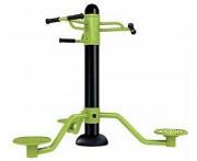 Appareil fitness cardio twister - Dimensions (L x l x h) : 185 x 185 x 138 cm