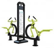 Appareil fitness cavalcade double - Dimensions (L x l x h) : 225 x 77 x 200 cm