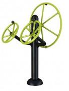 Appareil fitness combiné volant barreur - Dimensions (L x l x h) : 70 x 95 x 180 cm