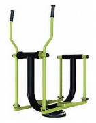 Appareil patineur de fitness extérieur - Dimensions (L x l x h) : 115 x 66 x 165 cm