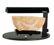 Appareil professionnel à raclette demi meule - Porte fromage réglable en hauteur et inclinable