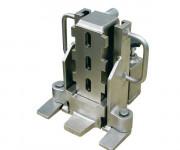 Appareils de levage hydraulique avec pompe hydraulique - Levage hydraulique en exécution nickelée - Avec pompe hydraulique