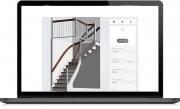 Application web conception escaliers - Faites le design de votre propre escalier sur internet