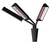 Applique électrique chauffante - Chauffage à rayonnement infrarouge court
