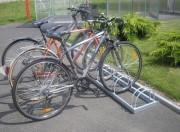 Appui vélos - 1 ou 2 Hauteurs - Nombre de places : de 2 à 6