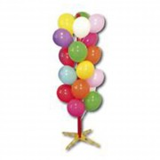 Arbre à ballons - Arbre à ballon de taille 165x35 cm - Contient 40 ballons.
