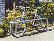 Arceau à vélo inox - Dimensions (Largeur x hauteur)  : 1600 x 840 mm