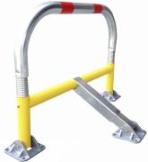 Arceau de parking avec amortisseurs - STOPCRASH - Dimensions (L x l x H) : 970 x 405 x 650 mm