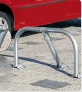 Arceau de parking en acier - Hauteur hors sol : 455 mm