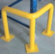 Arceau de protection - Fixation sur platine par ancrage - Dimensions : 704x704x350/600/1200 mm