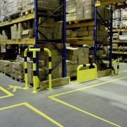 Arceau de protection d'angle - barrières de protection