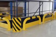 Arceau de protection en acier - Dimension (H x L) mm : de 350 x 750 à 600 x 1000 / Certifié TÜV