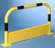 Arceau de sécurité avec plinthe - Tube Ø : 60 mm