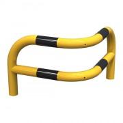 Arceaux d'angle renforcés à 2 pieds - Diamètre : Ø 60 mm - Longueur : 580 mm - Fixation sur platines