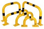 Arceaux de barrière platine - 120 x 195 mm - Ø 76,0 mm