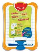 Ardoise effaçable à sec avec porte accessoire + feutre - Maped
