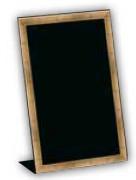 Ardoise menu à poser - Dimensions  : 15 x 11,5 x 23 cm