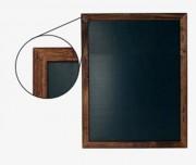 Ardoise menu mural classique - Dimensions : 560 L x 1000 mm H