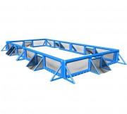 Arène Multisports gonflable - Fabrication sur-mesure - Installation et rangement faciles