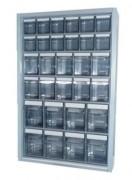 Armoire 6 blocs pour bacs