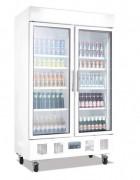Armoire à boissons réfrigérée verticale - 2 portes