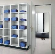 Armoire à casier de linge - Des étagères pour linge propre