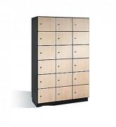 Armoire à casiers pour vestiaire - Les portes en HPL