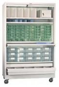 Armoire à médicaments mobile - Dimensions (L x P x H) cm : De 60 x 45 x 50 à 120 x 55 x 198