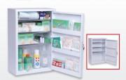 Armoire à pharmacie 1 porte - Dimensions (L x P x H) cm: 40 x 20 x 58