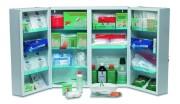 Armoire à pharmacie 2 portes - Dimensions (L x l x H) cm : 53 x 19 x 53