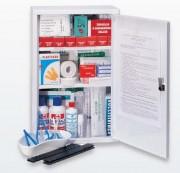 Armoire à pharmacie à 3 compartiments - Dimensions (L x l x H) cm : 30 x 14 x 45