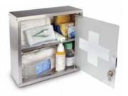 Armoire à pharmacie avec serrure - Dimensions (L x l x H) cm : 30 x 12 x 30 ou 30 x 12 x 60