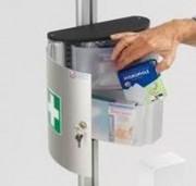 Armoire à pharmacie en aluminium - Avec porte à clef