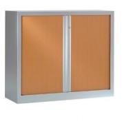 Armoire à rideaux monobloc H 136 - Dimensions en cm :  136x80 - 136x100 - 136x120
