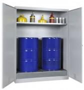 Armoire à simple paroi fût 1 étagère - Dimensions extérieures (H x l x P) :1950 x 1500 x 700 mm