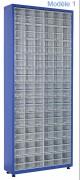 Armoire à tiroirs plastique de taille unique - Largeur : 780 – 1100mm / Hauteur : 1810 – 1900mm