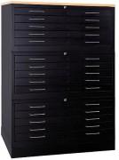 Armoire à tiroirs soudée - Empilable - Jusqu'à 3 cabinets