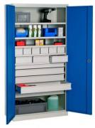 Armoire atelier haute - Dim. : 1000x500x1950 mm