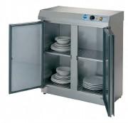 Armoire chauffe-assiettes - Dimensions (L x P x H) mm : Jusqu'à  410 x 800 x 900