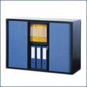 Armoire comptoir pour classement de courrier - Dimensions (L x H x P) cm : 103.6 x 104.3 x 40