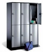 Armoire d'atelier à casiers - Côtes de passage utile : H 336 x L 330 x P 460 mm