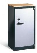Armoire d'atelier coupe feu H. 1226 mm - Charge élevée de 70 kg par tablette